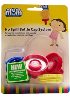No Spill Bottle Cap System