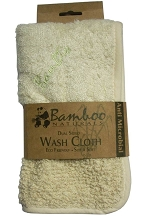Dual Sided Bamboo Wash Cloth