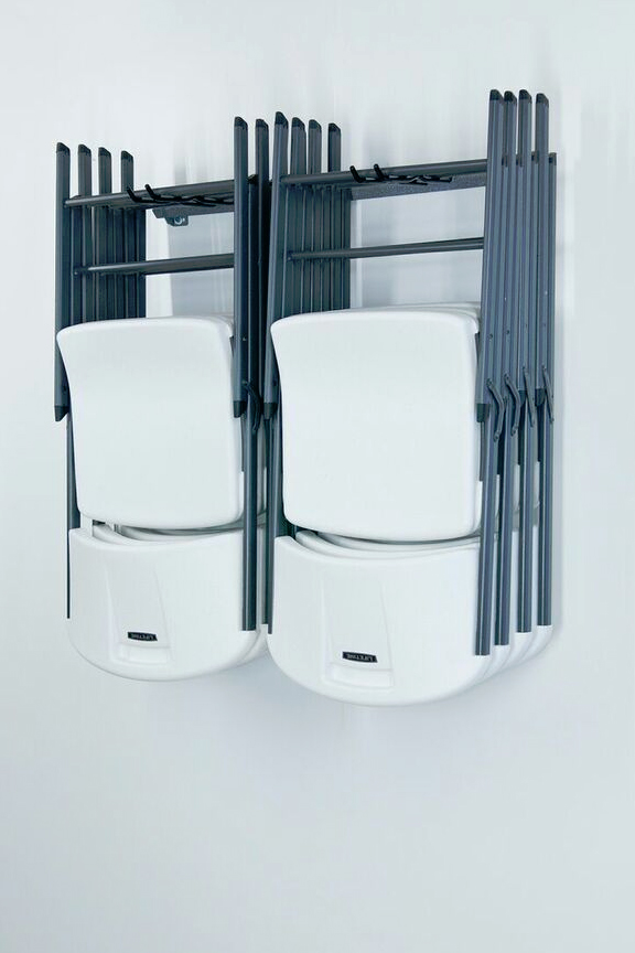 Astounding Folding Chair Storage Rack Pabps2019 Chair Design Images Pabps2019Com