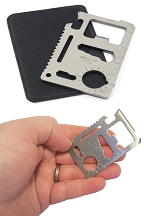11 In 1 Credit Card Survival Tool